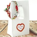 Bracelet Trèfle Ruban