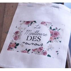 """Tote Bag """"La Meilleure des Nounous"""""""