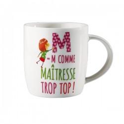 Mug Maîtresse trop top !