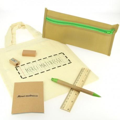 Kit de bureau Eco pour Maîtresse