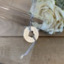 """Bracelet chaîne """"Merci maîtresse"""""""